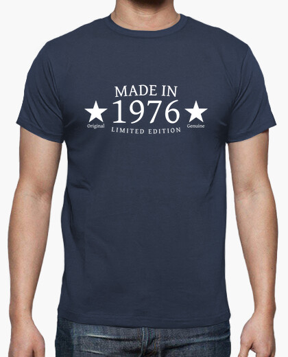 Camiseta Made in 1976 Limited Edition