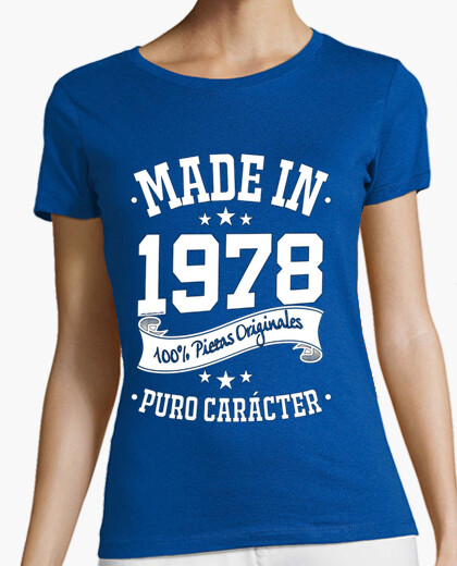 Camiseta Made in 1978