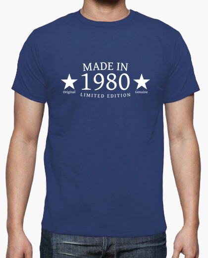 Camiseta Made in 1980 Limited Edition