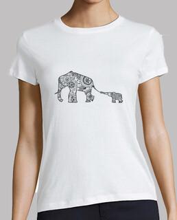 Camiseta madre e hijo, Mujer