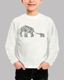 Camiseta madre e hijo, Niñe