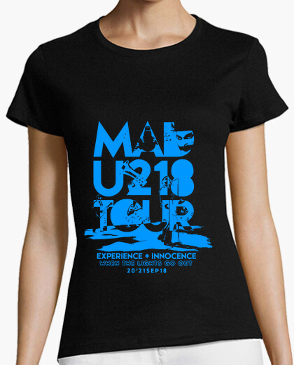 Camiseta MADrid U218 TOUR  (Limitada)