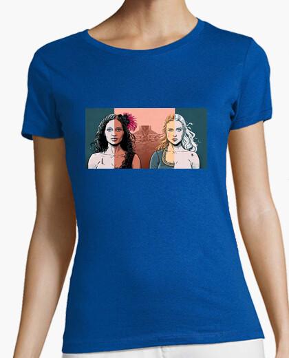 Camiseta Maeve y Dolores Abernathy - Westworld | Mujer