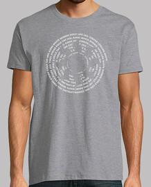 Camiseta Magic the gathering - Monowhite