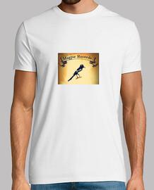 Camiseta Magpie Records blanca
