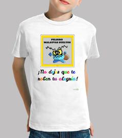 Camiseta Malauva azul