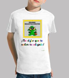 Camiseta Malauva verde