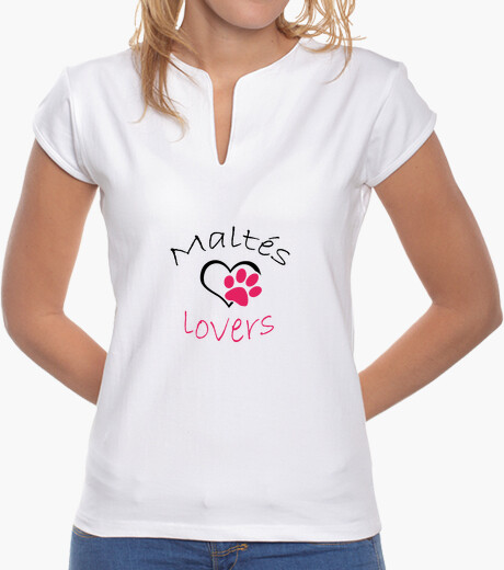 Camiseta Maltés Lovers