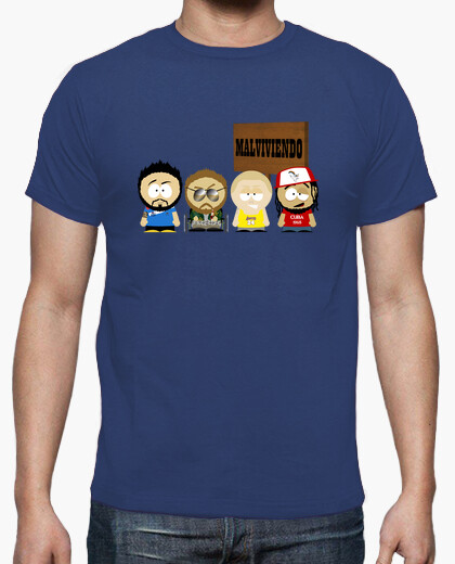 Camiseta Malviviendo- South park Cartel