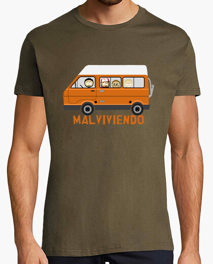 Camiseta Malviviendo- South park Furgo