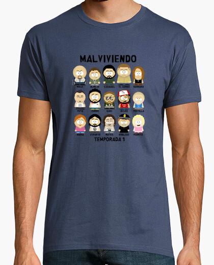 Camiseta Malviviendo- South Park Personajes 1ªT