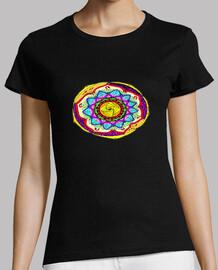 Camiseta Mandala color