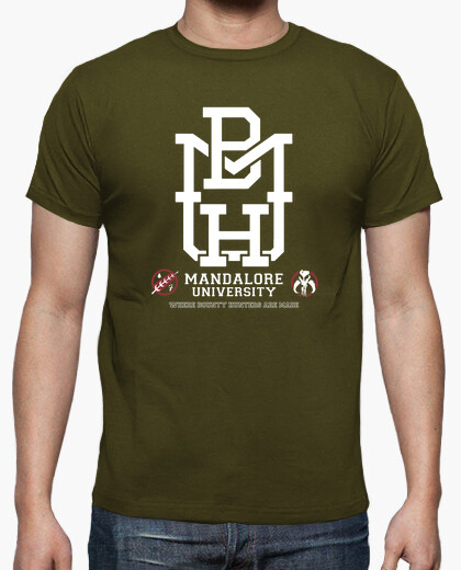 Camiseta Mandalore University