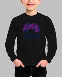 Camiseta manga corta con diseño I am a gamer