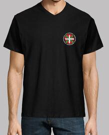 Camiseta manga corta cuello pico cerrado- Beti-Always-Toujours-Siempr