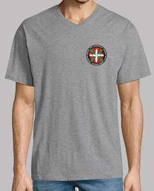Camiseta manga corta cuello pico largo - Beti-Always-Toujours-Siempr