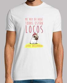 Camiseta manga corta hombre con diseño Arre Unicornio