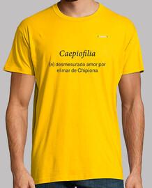 Camiseta Manga Corta Hombre Cuello Caja- Caepiofilia Definición