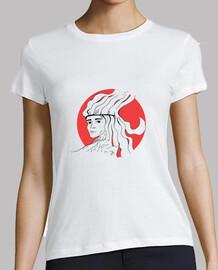 Camiseta Manga Corta Mujer Mujer Guanche