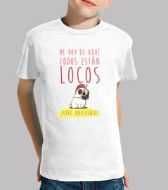 Camiseta manga corta niño con diseño Arre Unicornio