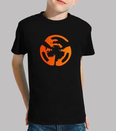 Camiseta Manga Corta Niño, Logo Solo
