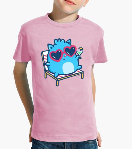Ropa infantil Camiseta manga corta niño/a Verano (Varios colores))