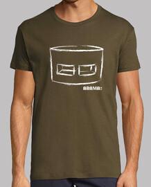 Camiseta manga corta verde para chico