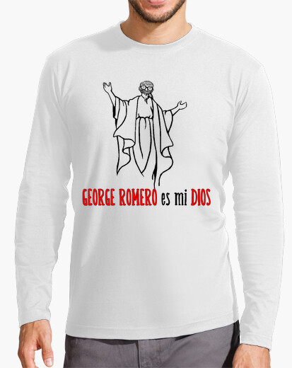 Camiseta manga larga hombre Dios Romero