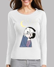 Camiseta manga larga Kiss of love