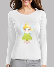Camiseta manga larga Kokeshi Campanilla