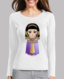 Camiseta manga larga Kokeshi Cleopatra