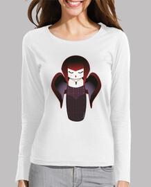 Camiseta manga larga Kokeshi Gótica