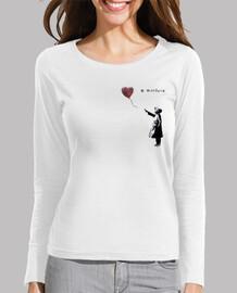 Camiseta manga larga para chica - Bansky With Siria