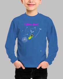 Camiseta manga larga para niño  I flow free