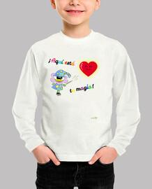 Camiseta manga larga para niños: ¡Aquí está tu magia!