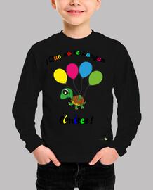 Camiseta manga larga para niños: ¡Que no te ponga límites!