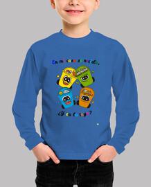 Camiseta manga larga para niños: Reciclaje