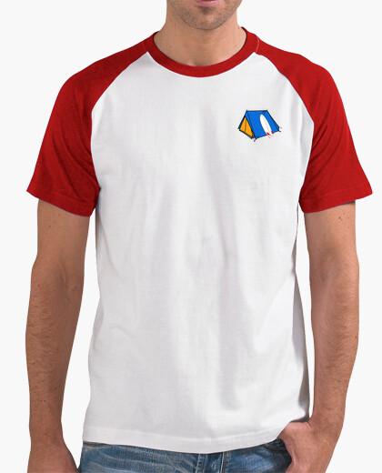 Camiseta mangas Camping disego