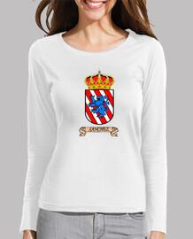 Camiseta mangas Escudo Apellido Sanchez