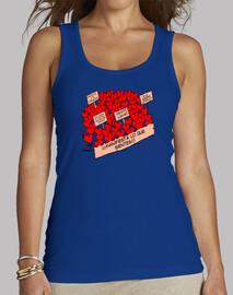 Camiseta manifestación corazones