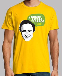 Camiseta Manolo Escobar: Dónde estará mi carro?