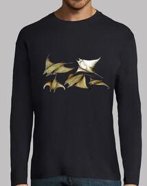 Camiseta Manta raya (Mobula tarapacana)