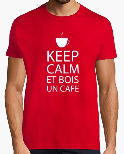 Camiseta mantener la calma ...