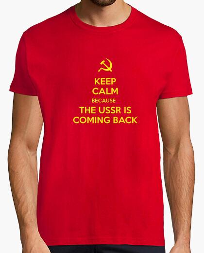 Camiseta Mantenga la calma