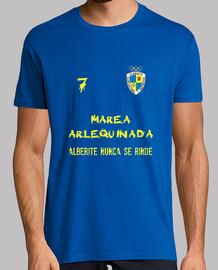 Camiseta Marea Arlequinada CD Alberite (Dorsal 7)