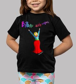 Camiseta Marijaia niño/niña - negra