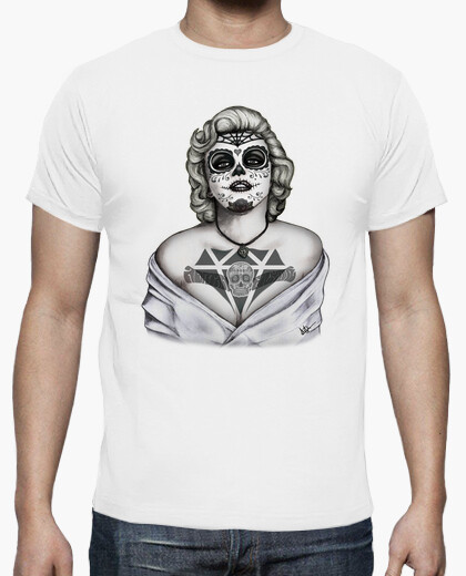 Camiseta Marilyn Monroe Catrina black and white !!!