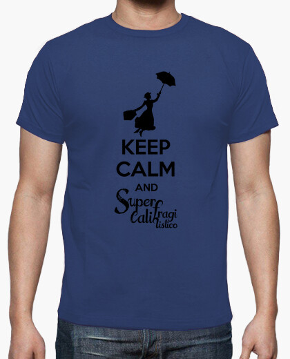 Camiseta Mary Poppins - Chico lima