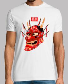 Camiseta Máscara Demonio