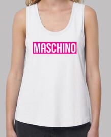 Camiseta maschino rosa